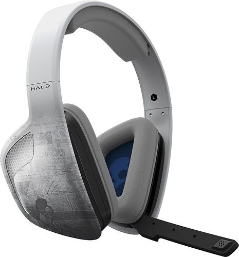 Skullcandy - SLYR Halo Edition Wired Stereo Gaming Headset for Xbox One - Gray - Larger Front