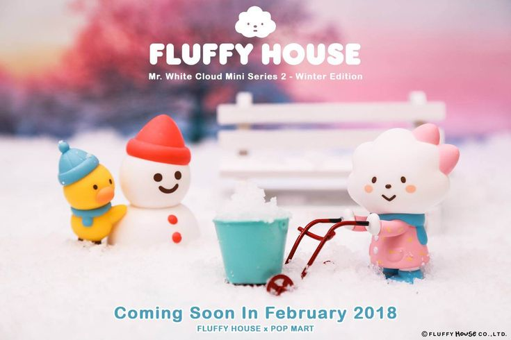 "A couple of days ago, Fluffy House x POP MART announced the all-new Mr. White Cloud blind box mini series 2 HERE, the series returns with the classic Fluffy House family has a new change of clothing and uber cute poses and a new character joins the Fluffy House family. Series one made us made us squeal like girls, guess what we were like when we saw SERIES 2. Today Fluffy gives the fans of new and old the release date! Fluffy House fans are you ready to ""live simply dream big"" as Fl..."