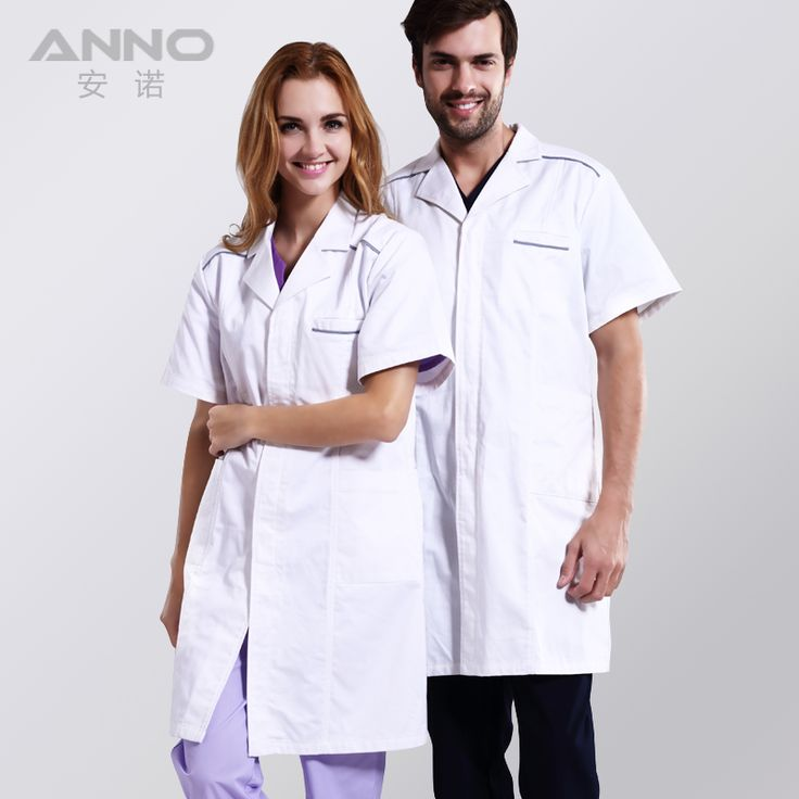 Men Women white doctor medical lab coat clothing medical Hospital uniform cotton medical scrub clothing Short Lab Coat ** AliExpress Affiliate's buyable pin. Click the image to view the details on www.aliexpress.com