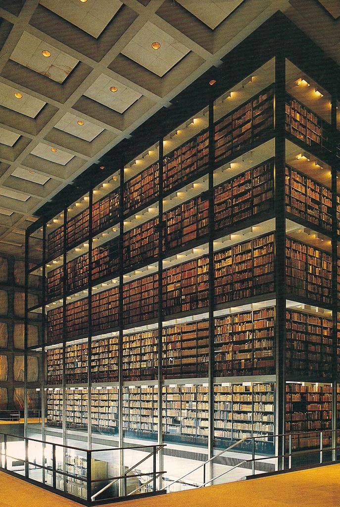 Beinecke Library, Yale University, New Haven, CT