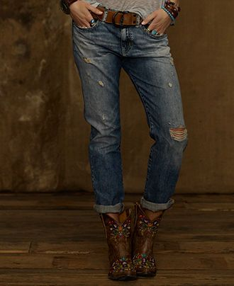Denim & Supply Ralph Lauren Jeans, Boyfriend Jeans, Oceanside Wash - Denim & Supply Shop All - Women - Macy's