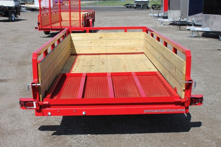 2016 Sure-Trac Open Single Axle 5' x 10' 3 Board High Utility Trailer for Sale Stock: | US 27 Trailers