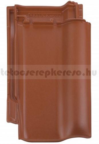 Bramac Rubin 9V kerámia matt, engóbozott rézvörös tetőcserép akciós áron a tetocserepkereso.hu ajánlatában