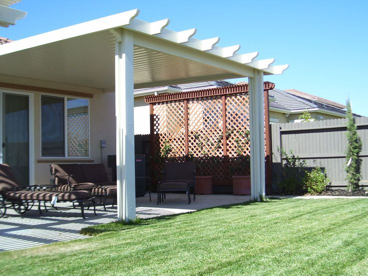 Best 25 Aluminum Patio Covers Ideas On Pinterest Roof