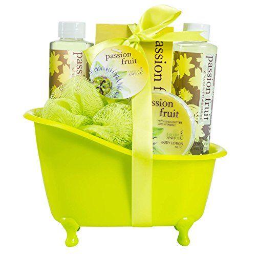 Passion Fruit Tub Bath Gift Set Freida Joe http://www.amazon.com/dp/B00LLIUZQE/ref=cm_sw_r_pi_dp_yoqMwb1G86BA6