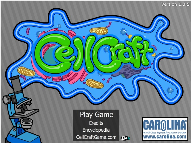 Cell Craft Interactive Game From Carolina Science