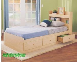 Tempat Tidur Anak Model Laci