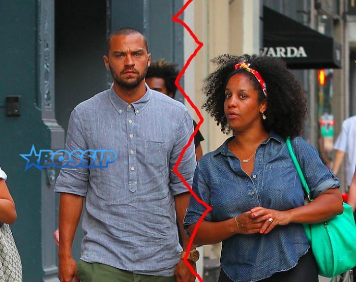 Jesse Williams Fires At Estranged Wifes Uninvolved Parent Claim Says He Works And She Chills At Home With Nannies