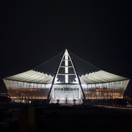 Moses Mabhida Stadium by GMP Architekten