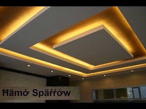 100 صورة من أروع ديكورات الأسقف المعلقة جبس بورد Youtube False Ceiling Design Bedroom False Ceiling Design Ceiling Design Bedroom