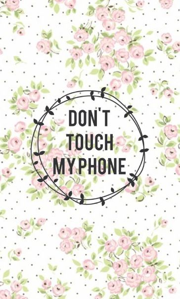 Dont touch my phone on We Heart It