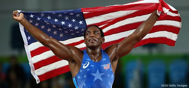 J'den Cox Wins Bronze, Team USA's First Men's Freestyle Medal Of Rio Games
