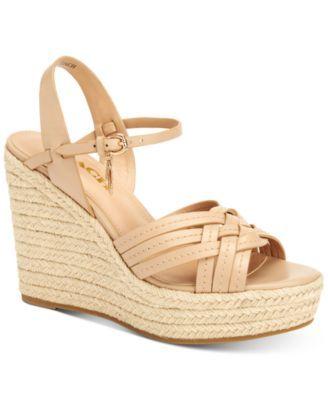COACH Dottie Espadrille Wedge Sandals   macys.com