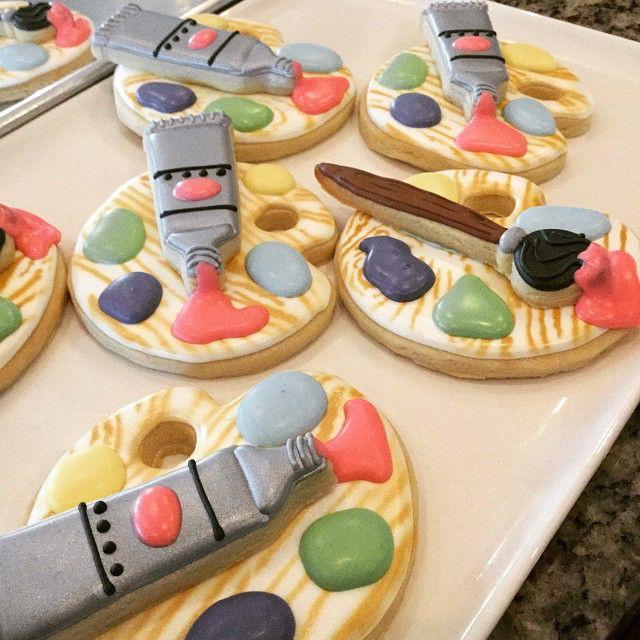 94 best ArtThemed Cakes Cookies images on Pinterest Art cakes