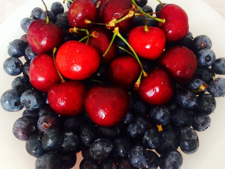 cherries and blueberries fresh fruits Claudia's Secrets School of life 2