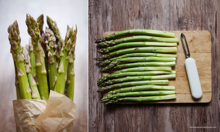 Szparagi na parze i szybki sos holenderski – z blendera   Karo in the Kitchen