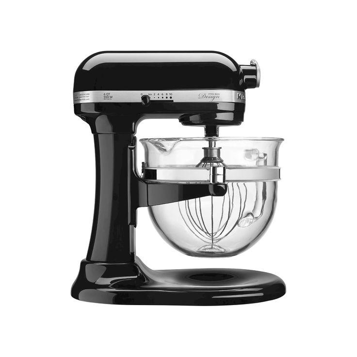 KitchenAid Professional 600 Design Series 6-Quart Bowl-Lift Stand Mixer - KF26M22, Black