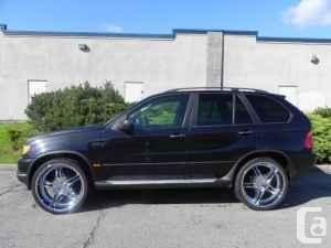 BMW suv rims | 2002 BMW X5 3.0i 24 RIMS Leather 4WD SUV - $17850 (SURREY) in ...