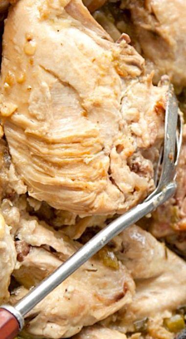 Paula Deen's Smothered Chicken ❊
