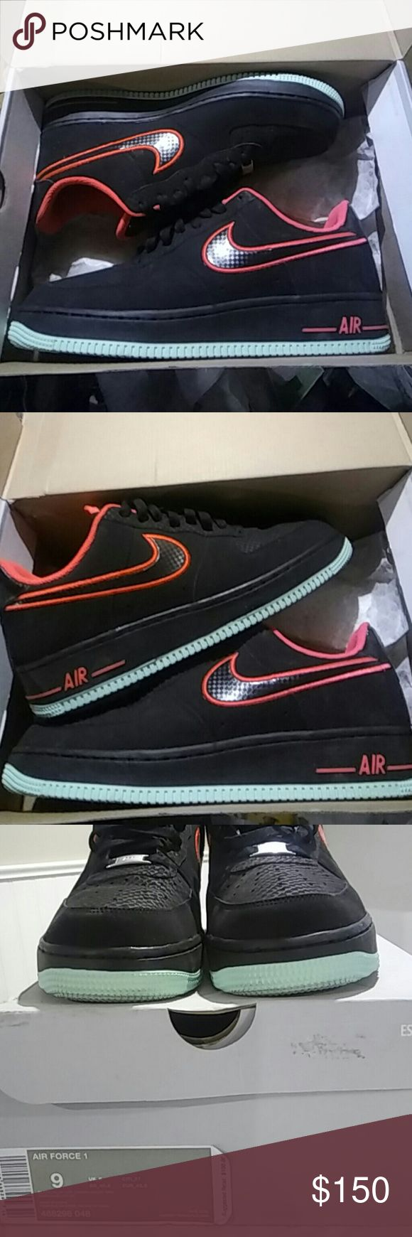 Yeezy air force 1s The air force 1s that complimented the yeezy foamposites Nike Shoes Sneakers