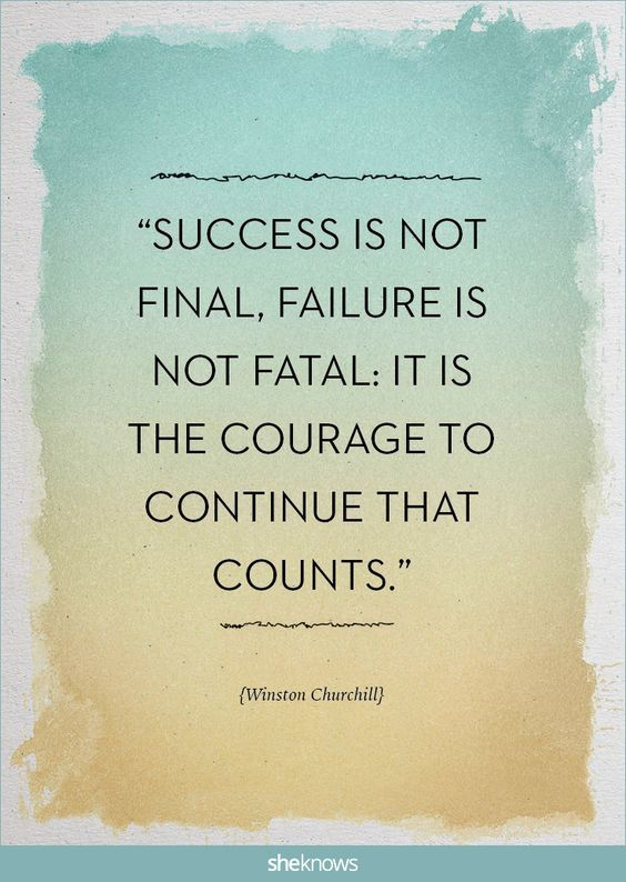 """Inspirational Quote: """"Success is not final, failure is not fatal: it is the courage to continue that counts."""" - Winston Churchill #PRO #assist #documents #busines #setup #dubai #uae #consultant #relation  www.documentsclearing.com"""