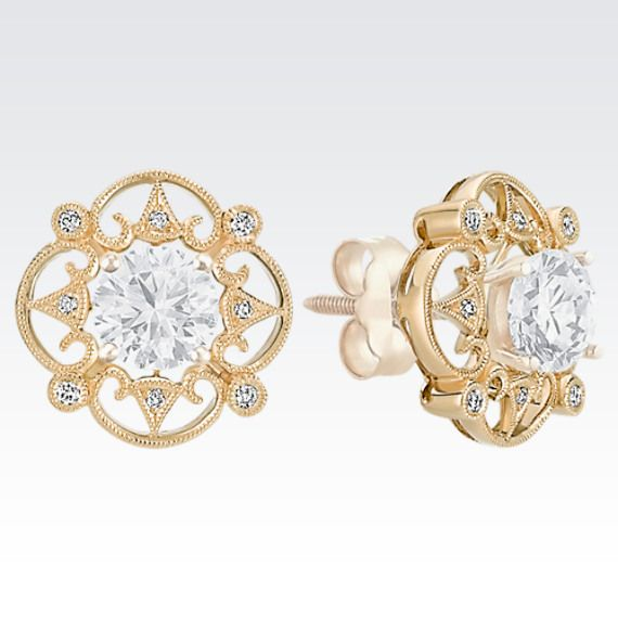 25+ Best Ideas About Diamond Solitaire Earrings On Pinterest | Real Diamond Earrings Solitaire ...