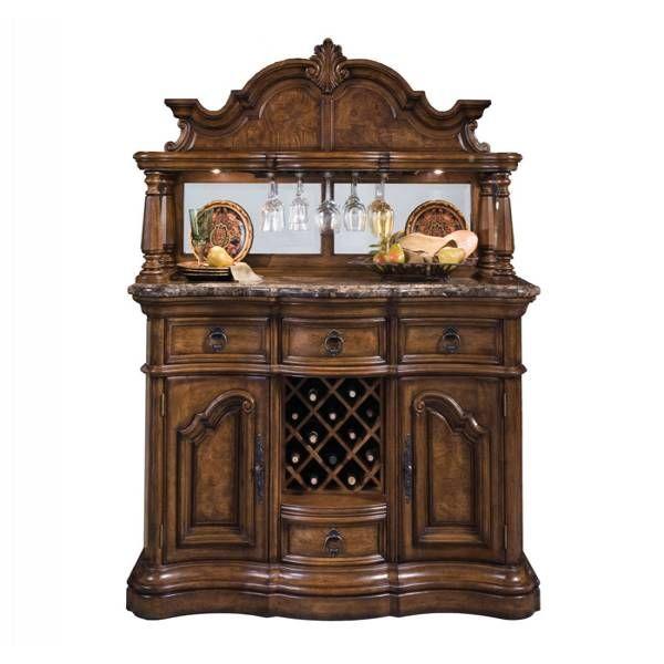 San Mateo Marble Top Sideboard & Hutch | Pulaski | Star Furniture | Houston,  TX - 17 Best Antique Sideboards Images On Pinterest Antique Buffet