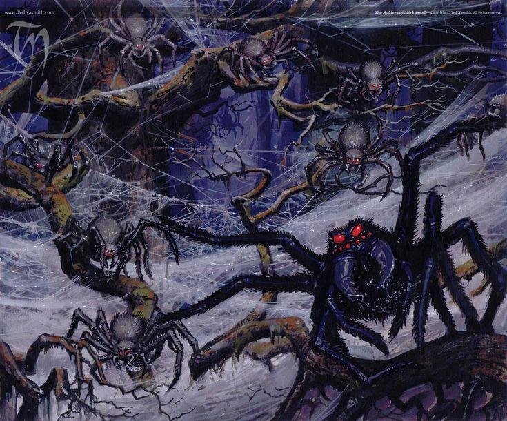 ⚔ SPIRIT BRINGERS:  EL GRAN ASALTO A BEAGALLTACH  ⚔  - Página 4 A0cb482882f5571f691ad998bc35fa0d--the-spider-book-illustrations