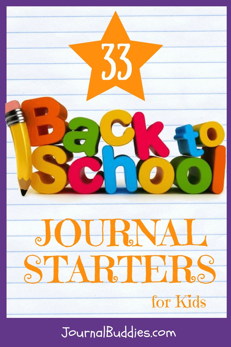 Use these back-to-school journal prompts to get your class ready for the brand new school year—and to help them develop some common goals for their learning! via @journalbuddies