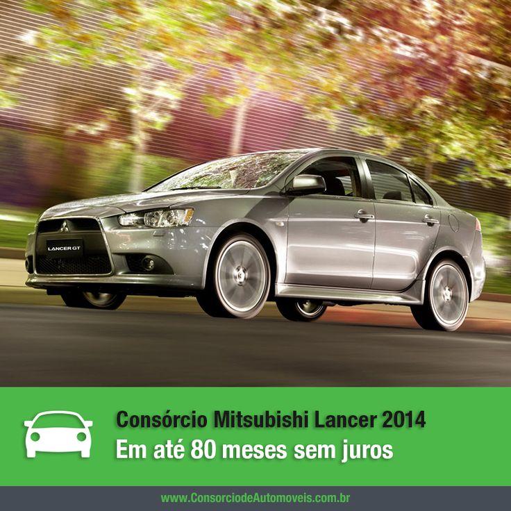 Ter um carro da Mitsubishi é um sonho para muitos brasileiros e um dos modelos mais famosos da marca é o Lancer. Para saber como comprar o seu, acesse nossa matéria: https://www.consorciodeautomoveis.com.br/noticias/mitsubishi-lancer-2014-em-ate-80-meses-sem-juros?idcampanha=206&utm_source=Pinterest&utm_medium=Perfil&utm_campaign=redessociais