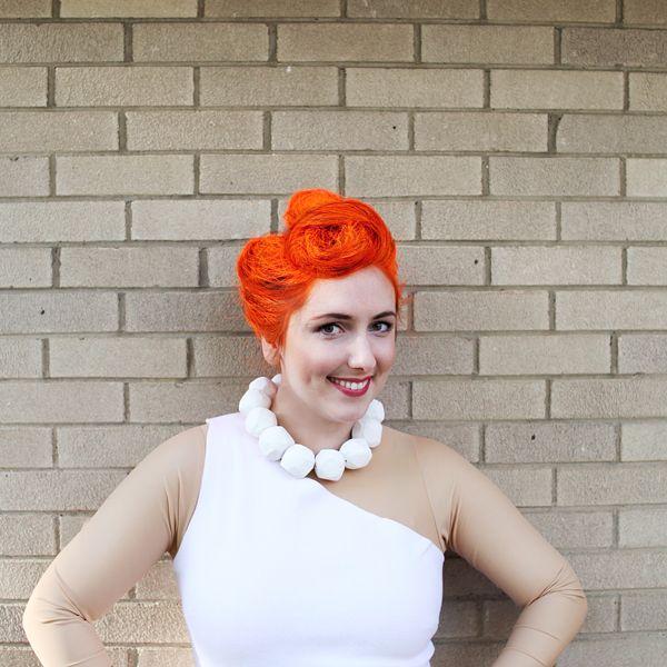 Wilma Flintstone hair tutorial