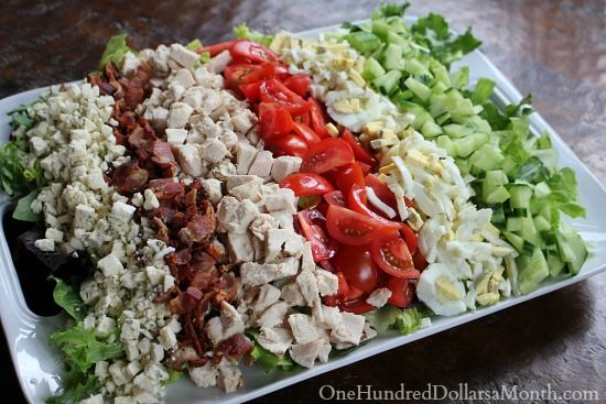 I've probably been to the Cheesecake Factory about 50 times {it's my parent's favorite restaurant}. The first time I went I ordered their Cobb salad and LOVED it. And now, even though their menu is the size of a novel, I order the same exact thing every...