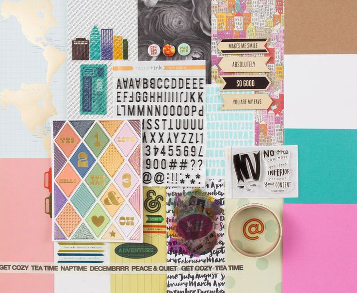PARK AVE. Scrapbook Kit at @studio_calico - use code: FIVEOFFKIT to get $5 off any main kit today! #studiocalico