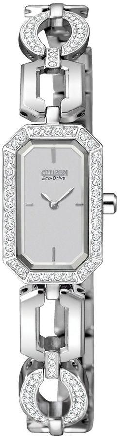 EG2760-56A - Authorized Citizen watch dealer - LADIES Citizen SILHOUETTE CRYSTAL, Citizen watch, Citizen watches