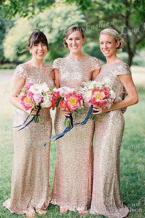 Buy wholesale romantic bridesmaid dresses,sale bridesmaid dresses along with short sleeve bridesmaid dresses on DHgate.com and the particular good one- popular sparkly a-line seqin modest bridesmaid dresses bridesmaids gown with cap sleeves is recommended by lenafashion at a discount.