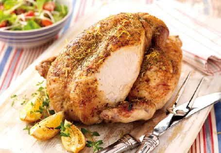 Roast Chicken Dinner - What Sundays are made for!