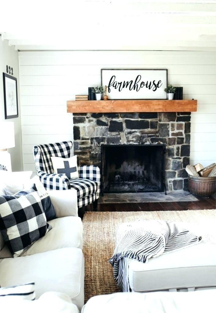 Buffalo Plaid Rug Buffalo Plaid Rug Runner Red And Black Buffalo Plaid Rugs Family Room Update Farmhouse Family Rooms Rugs In Living Room #red #buffalo #plaid #living #room