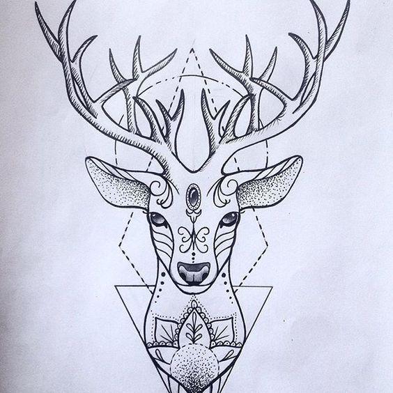 Sorte, virtude, beleza, paixão, abundancia, luz.cervo simbolo da arvore da vida, dos raios do sol do renacer