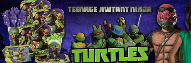 Teenage Mutant Ninja Turtles | Birthday in a Box Party Supplies http://fave.co/2bH21Mo