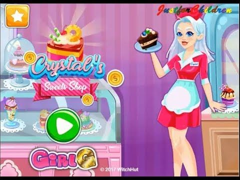 Crystals Sweets Shop Video Play - Girls Games Online - Cooking Games for...