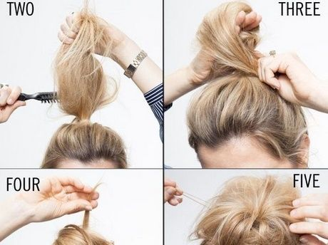 Easy everyday updos for long hair