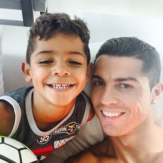 If you don't stalk the Real Madrid superstar on Instagram, then you may not know he has an adorable 5-year-old son. | Let's Talk About How Adorable Cristiano Ronaldo And His Son Are
