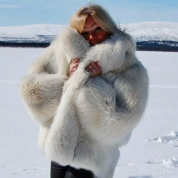 Swedish Fur Goddess Fur You Could Live In Pinterest