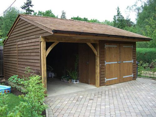 Planning Permission Requirements For Your Wooden Garage And Other  Outbuildings