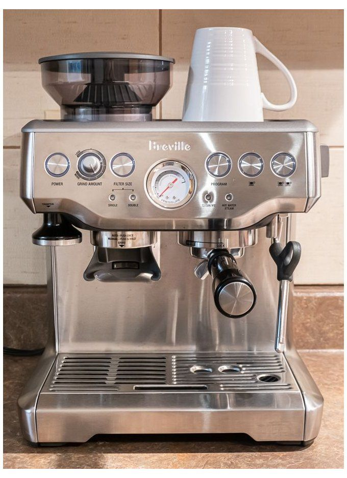 Breville Barista Express Tips Tricks How To Make The Perfect Latte Breville Espr In 2020 Breville Espresso Machine Breville Barista Express Home Espresso Machine