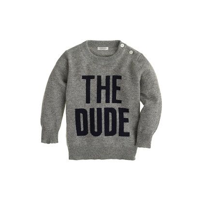 for the little dude in your life :)