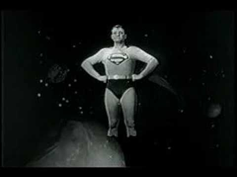 '50s Adventures of Superman: Except for my dad of course, Superman was my hero. I watched this show faithfully on Saturdays.