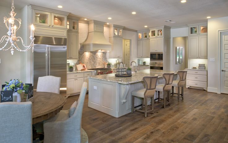 Toll Brothers - Sandhaven Kitchen - Sienna Plantation - Missouri City, TX - Fort Bend County