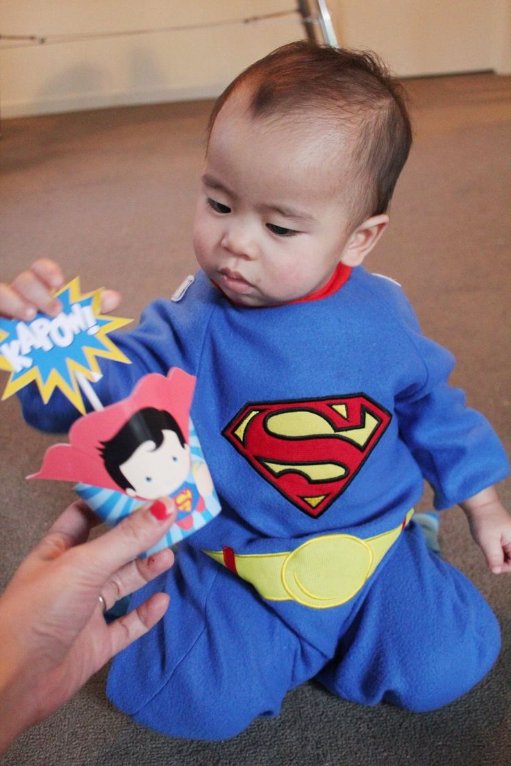 my superman baby