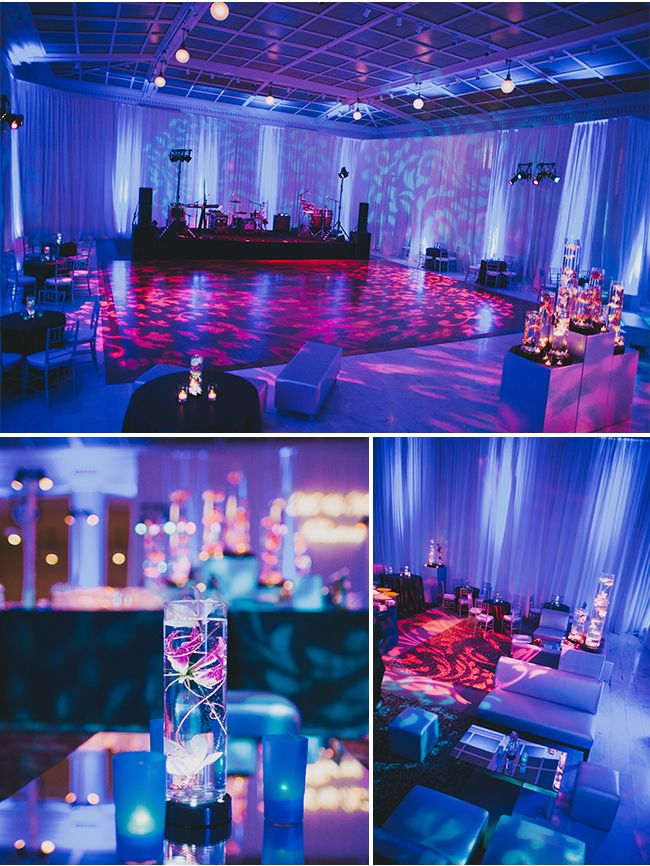 LOVE this lighting! / San Francisco Wedding / Sarah Maren Photography / via StyleUnveiled.com